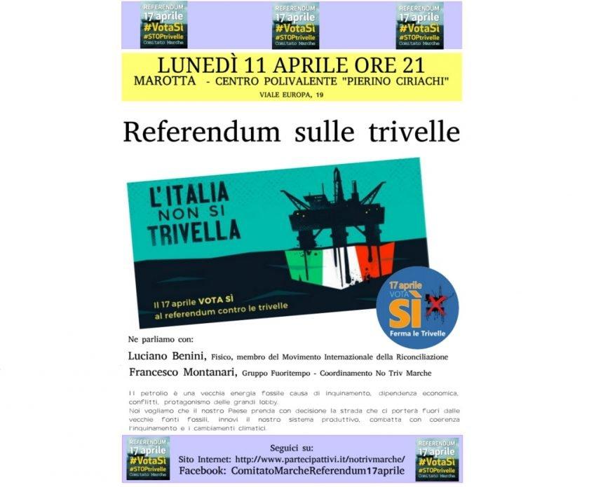 Referendum sulle Trivelle